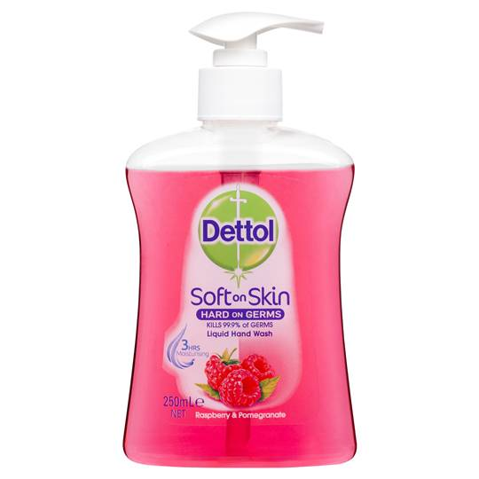 Dettol Liquid Handwash Pump Raspberry & Pomegranate
