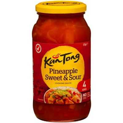 Kan Tong Stir Fry Sauce Pineapple Sweet & Sour