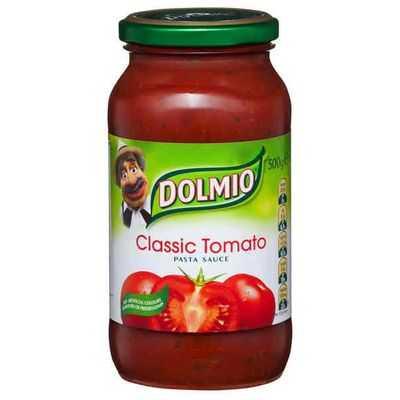 Dolmio Traditional Recipe Pasta Sauce Classic Tomato