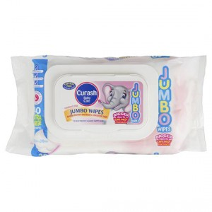 Curash Jumbo Wipes Fragrance Free