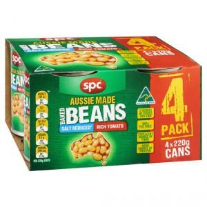 Spc Baked Beans Salt Reduced