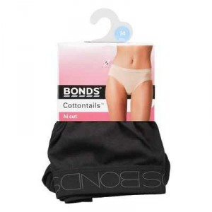 Bonds Underwear Hi Leg Plain