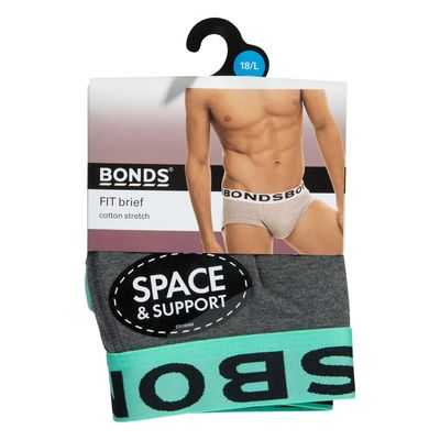 Bonds Mens Underwear Brief Large