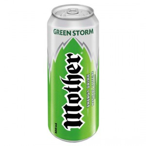 Mother Green Storm Energy Drink