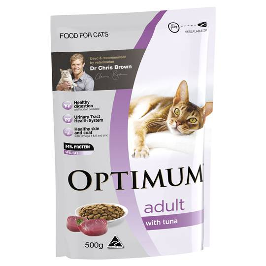 Optimum Adult Cat Food Tuna