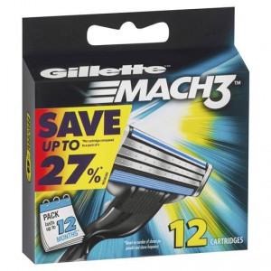 Gillette Mach3 Refills