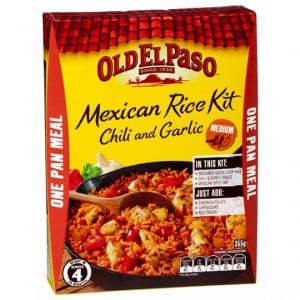 Old El Paso Chili & Garlic Mexican Rice Kit