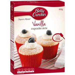 Betty Crocker Cupcake Mix Vanilla