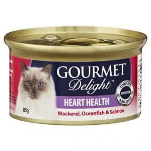 Gourmet Delight Adult Cat Food Heart Health