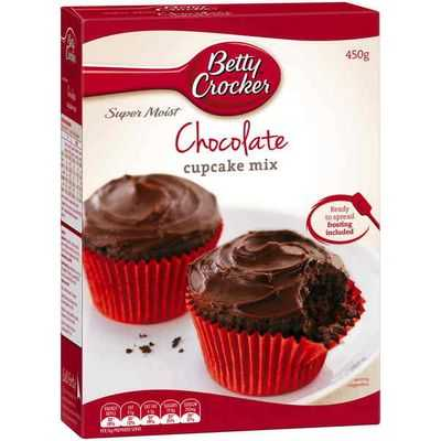 Betty Crocker Cupcake Mix Chocolate