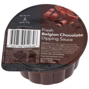 Birch & Waite Dipping Sauce Belgian Milk Chocolate