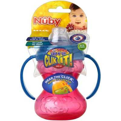 Nuby Click It Cups Twin Handle Trainer