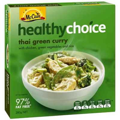 Mccain Healthy Choice Thai Green Curry