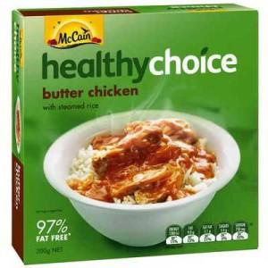 Mccain Healthy Choice Butter Chicken Bowl