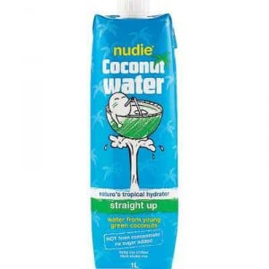 Nudie Nothing But Coconut Water Straight Up