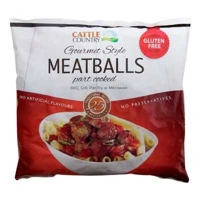 Cattle Country Meatball Gluten Free