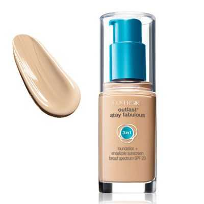 Covergirl Outlast Stay Fabulous 3 In 1 Foundation Classic Ivory