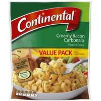 Continental Value Pack Pasta & Sauce Bacon Carbonara