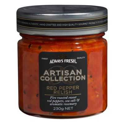 Always Fresh Artisan Red Peppers Relish