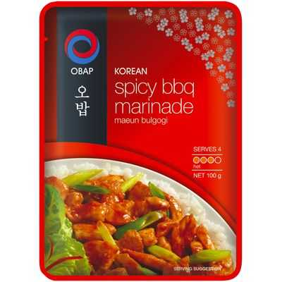 Obap Korean Sauce Spicy Bbq Marinade