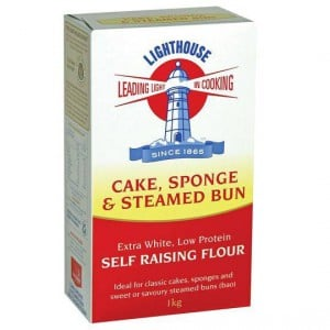 Lighthouse Sponge Cake & Steamed Bun Self Raising Flour