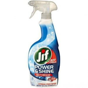 Jif Power & Shine Cleaner Spray Bathroom
