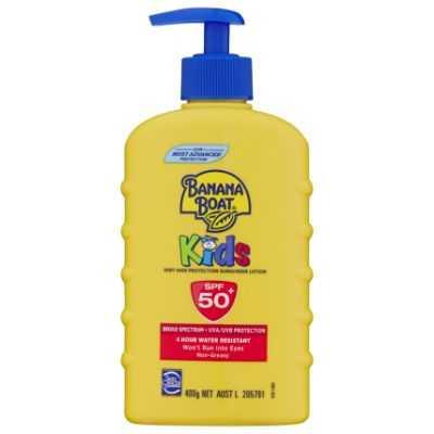 Banana Boat Kids Sunscreen Spf 50+