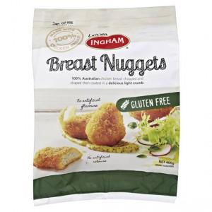 Ingham Breast Nuggets Gluten Free