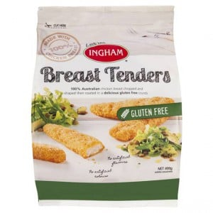 Ingham Chicken Breast Tenders Gluten Free