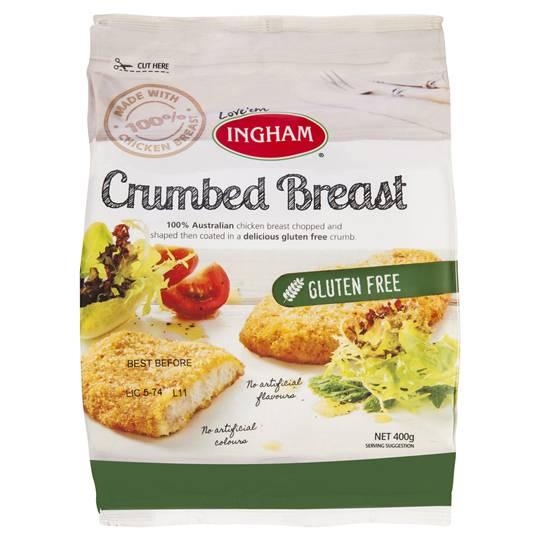 Ingham Breast Schnitzel Gluten Free