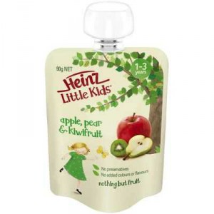 Heinz Little Kids 1-3 Years Apple Pear & Kiwifruit
