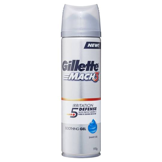 Gillette Mach3 Irritation Defense Soothing Gel