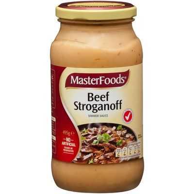 Masterfoods Simmer Sauce Beef Stroganoff