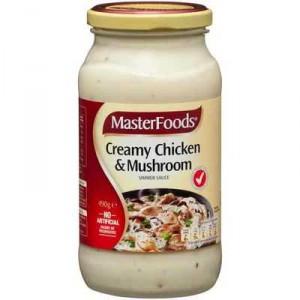 Masterfoods Simmer Sauce Creamy Chicken Mushroom