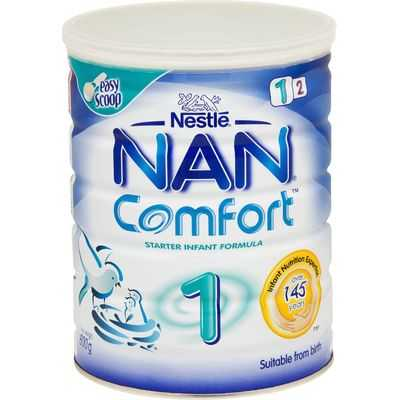Nestle Nan Comfort Infant Formula Stage 1 0-6 Months