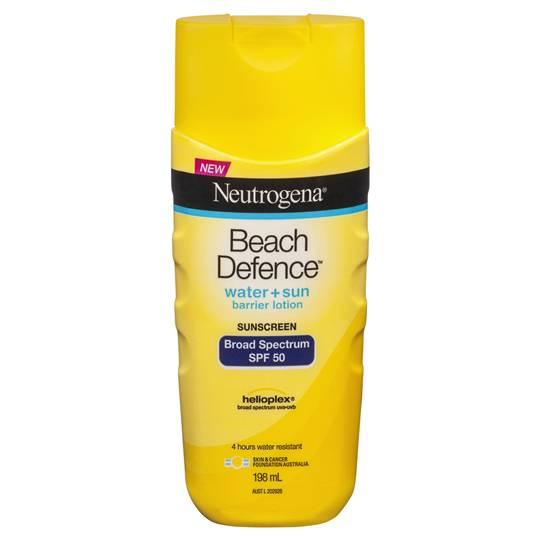 Neutrogena Spf 50+ Sunscreen Beach Defence Lotion