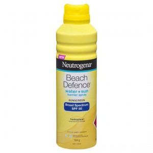 Neutrogena Spf 50+ Sunscreen Beach Defence Spray
