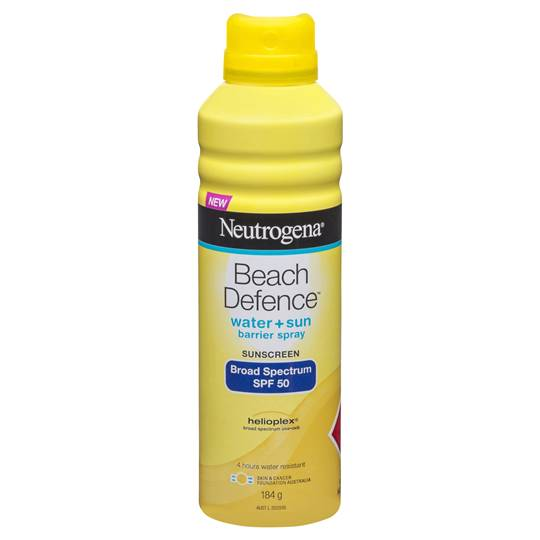 Neutrogena Spf 50+ Sunscreen Beach Defence Spray