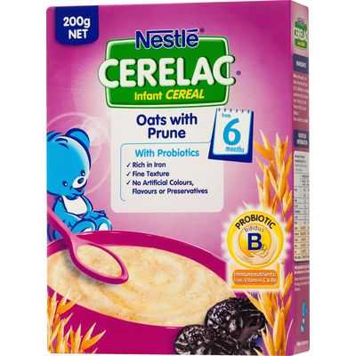 Cerelac 6 Months+ Oats With Prune
