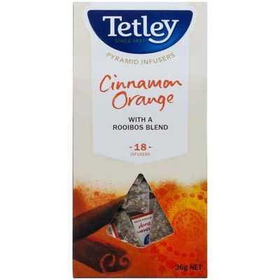 Tetley Cinnamon Orange Pyramid Tea