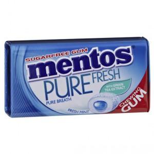 Mentos Pure Fresh Gum Fresh Mint