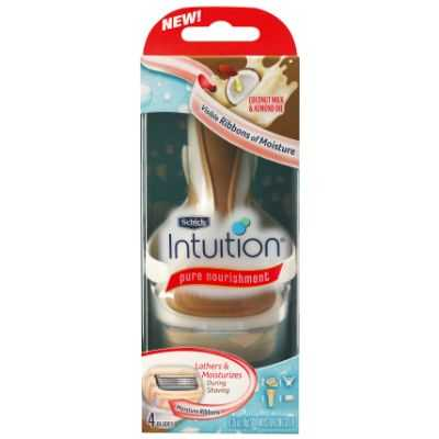 Schick Razor Intuition Pure Nourish Kit