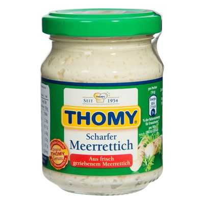 Thomy Horseradish European Foods