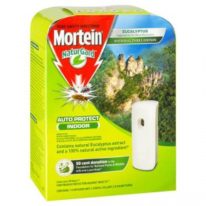 Mortein Insect Repellent Auto Protect Eucalyptus