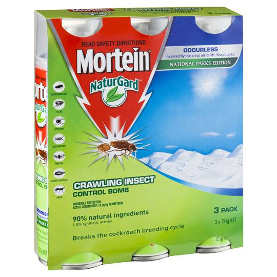Mortein Naturgard Insect Control Bomb Odourless