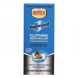 Hovex Vapor Gaurd Moth Killer Clothing