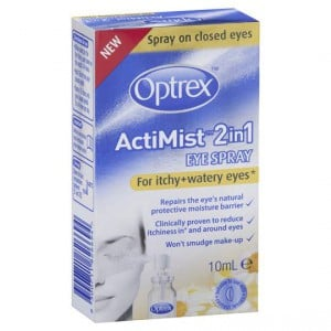 Optrex Actimist 2 In 1 Eye Spray Itchy