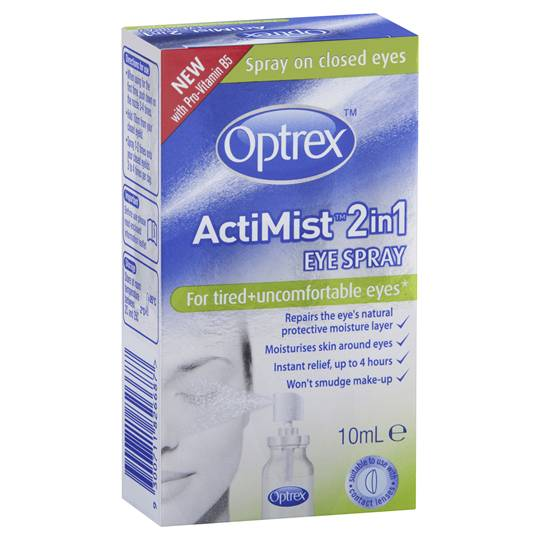 Optrex Actimist 2 In 1 Eye Spray Tired