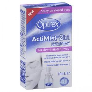 Optrex Actimist 2 In 1 Eye Spray Dry