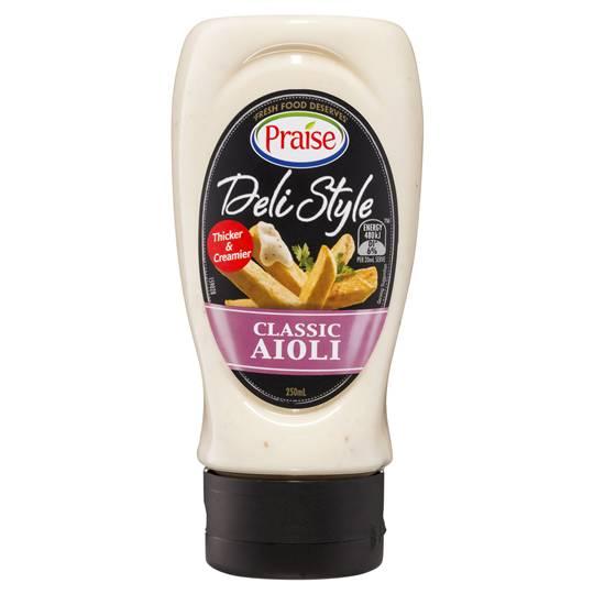 Praise Aioli Mayonnaise Deli Style Classic
